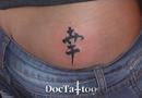 Kanji 'Happiness' tattoo
