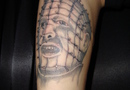 The Pinhead tattoo
