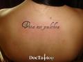 Script tattoo
